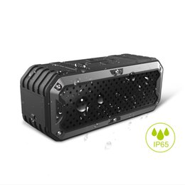 Wholesale New Drivers Speakers - New ZEALOT S6 Waterproof Portable Wireless Bluetooth Speakers Power Bank Built-in 5200mAh Battery Dual Drivers Subwoofer Aux