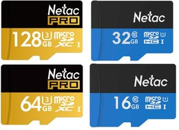 Wholesale New Style Blister - new style Netac P500 64GB 128GB 32GB Class 10 Memory SD Card TF Memory Card with Free Retail Blister Package 1003