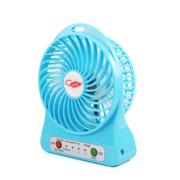 Wholesale Usb Portable Computer Table Fan - Wholesale- Portable Flexible Electrical Mini USB Fan Gadget Ventilador Ventilateur Fans Battery Power for Table Laptop Cooling #85287