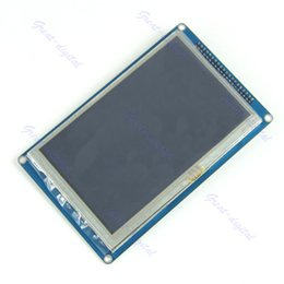 """Wholesale Tft Lcd Panel Touch Screen - Wholesale- 5"""" TFT LCD SS63 Module Display + Touch Panel Screen + PCB Adapter Build-in"""