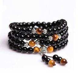 Wholesale Buddhist Hands - Obsidian bracelet,Coule bracelet,Hand string beads,Buddhist pearl of Chinese characteristics,To ward off bad luck,A symbol of happiness