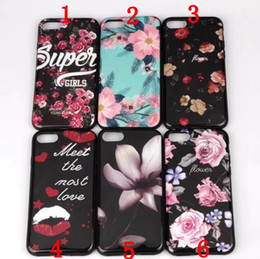Wholesale Kissing Paintings - Girl Funny Kiss my ass Painted Soft TPU Cover Phone Case for iphone 7 5 5s SE 6 6s 6 7 8 plus