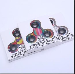 Wholesale Cheapest Camo - Cheapest camo Fidget Spinner three colors can choose you like color or mix delivery DHL shipping free