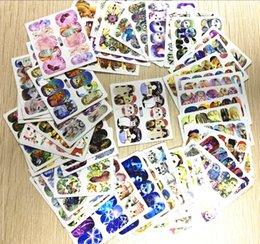 Wholesale Nail Art Mix Stickers - Wholesale-Nail Art Water Stickers fashion 50sheets lot Mixed Water Transfer Nail Tips Wraps Art Sticker Watermark Decals Decoration