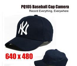 Wholesale Hidden Video Camera Hat - 8GB Cap Hat spy Camera Baseball Cap Hat hidden camera video Camcorder with Remote Control outdoor Mini DVR Video Recorder PQ105