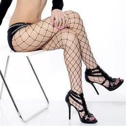 Wholesale Sexy Pantys - Wholesale- Sexy Pantys Medias Women Big Mesh Fishnet Net Pattern Pantyhose Stockings Tights #31117