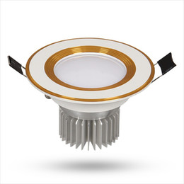Wholesale Lm Ic - 5730 LED Ceiling Lights 3-24W IC Drive AC265V 210-1680 LM LED Ceiling Lights with Aluminum for Indoor