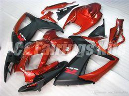 Wholesale Bike Body Fairings - Free gifts+Seat Cowl New bike Fairing Kits For SUZUKI GSXR 600 750 K6 06 07 GSXR-600 GSXR750 GSXR600 GSXR-750 2006 2007 body orange black