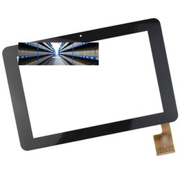 Wholesale Sanei Quad Wholesale - Wholesale- Brand New 10.1 Inch Black Touch Screen TPC0323 VER1.0 for Sanei N10 AMPE A10 quad Core Tablet PC Replacement
