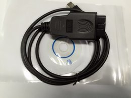 Wholesale Usb Chips - VAG KKL USB 409.1 USB FTDI FT232RL Chip RS232 COM Vag 409 409.1 Vag KKL Fiat ECU For VW AUDI Post