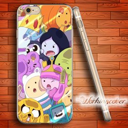 Wholesale Adventure Time Finn - Fundas Adventure Time Finn and Jake Soft Clear TPU Case for iPhone 6 6S 7 Plus 5S SE 5 5C 4S 4 Case Silicone Cover.