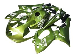 Wholesale Thundercat Fairings - Motorcycle Frame Injection Mold Complete Body Fairing Kit for YZF600R Thundercat 97-07 Injection Body Panel Fairing Kit Glossy Green
