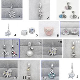 30 / pcs lot Authentic 925 Sterling Silver HOT VENTAS cuentas abalorios adapta a Pandora Charm pulseras europeas desde fabricantes