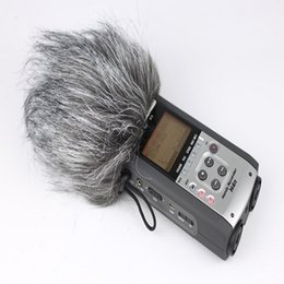 Wholesale Sport Camera Microphone - Dead Cat furry outdoor microphone windscreen muff fit ZOOM H4N, H2N,outdoor microphone windscreen cover fit ZOOM h4n, h2n