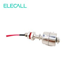 Wholesale Water Quality Sensors - Wholesale- High Quality 10W 1pc Tank Pool Water Level Liquid Sensor Float Switch Stainless Steel ES6010 2A1