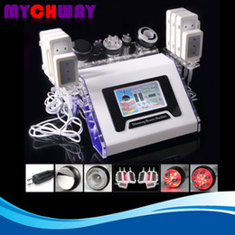 Wholesale Cavitation Pads - CE Approval 350mw 6 Pads Lipo Laser 40K Ultrasound Cavitation Tripolar Multipolar RF Vacuum Beauty Body Slimming Machine