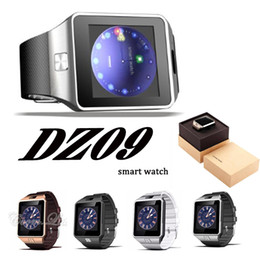 Wholesale Sd Card For Apple - DZ09 smart watch GT08 A1 U8 wrisbrand music player SIM Intelligent mobile phone watch can record the sleep state can fit 32G sd card