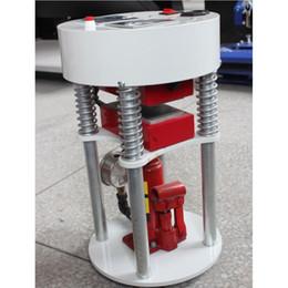 "Wholesale Semi Automatic Heat Press Machine - 14000PSI 5 Tons Pressure Hydraulic Rosin Press 3""x5"" (6x12cm )Oil Press LCD display controller Dual Element Heat Press Machine"
