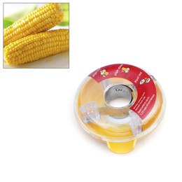 Wholesale Corn Cob Peeler - Efficient kitchen tool Washable One-Step Corn Peeler Thresher Tool Kitchen Cob Kerneler Cutter Stripper Remover wholesale free shipping