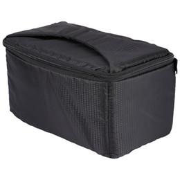 Wholesale Dslr Camera Bag Inserts - DSLR Partition Padded Camera Bag Insert Case Divider Waterproof built-in Insert SLR Camera Bag