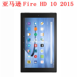 Wholesale Screen Protectors For Kindle Fire - Wholesale- Ultra Clear HD Clear glossy Screen Protector Screen protective Guard Cover Film For Amazon Kindle Fire HD 10 HD10 2015 tablet