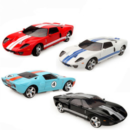 Wholesale Toy Race Cars For Sale - Ford GT Model 4WD RC Car Radio Control Racing Cars Toys For Kids Christmas Gift Hot Sale Juguetes Drop Shipping