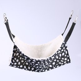 Wholesale Wholesale Chinchillas - New Hot 7 Patterns Cute Pet Polyester Rat Rabbit Chinchilla Cat Cage Hammock Small Pet Dog Puppy Bed Cover Bag Blankets