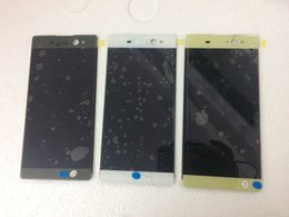 """Wholesale Xperia Screen Replacement - Free Shippipng 6.0"""" For Sony Xperia XA Ultra C6 LCD Display with Touch Screen Digitizer Assembly Replacement 3 color"""