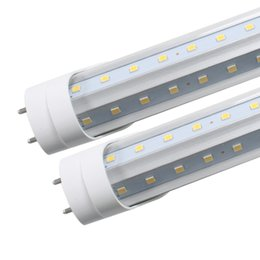 Wholesale Daylight Led Tube Lamp - 4000K Daylight (Neutral White) 1.5m V shape T8 led tubes 5FT 36w 1500mm led tube lamp SMD2835 Super Brightness AC85-265V