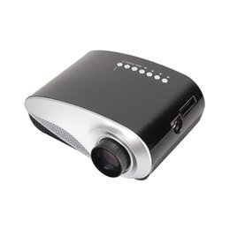 Wholesale Rohs Video - Wholesale-Multimedia Mini Beamer Projector Built In Analog TV Tuner Video Proyector With CE ROHS Certificate For Home Entertainment