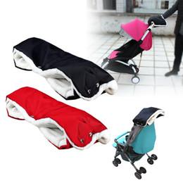 Wholesale Hand Muffs - New Stroller Warmer Gloves Pushchair Hand Muff Waterproof Pram Accessory Baby Carriage Glove By Clutch Cart Muff Glove TY2080