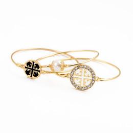 Wholesale White Gold Gemstone - Fashion bracelet sets kendra crystal scott bangles artificial gemstone for Women Jewelry opening bracelets jewelry sets
