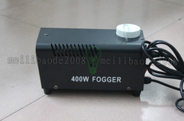 Wholesale Fog Machine Remote Control - Hot sale BEST price 400W Remote control smoke machine fog machine DJ equipment with English manual for stage performance special effects MYY