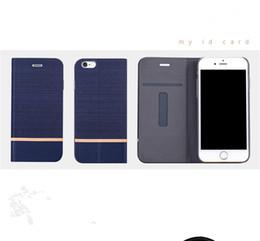 Wholesale Case Jean Iphone - For Xiaomi Mobile Phone Case Wallet Desgin Card Holder Jean Pattern Leather Case For xiaomi redmi 3