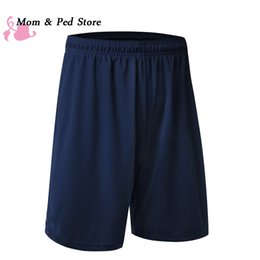 Wholesale Household Shorts - Wholesale- Loose Household Quick-drying Casual Shorts Men Bodybuilding Fitness Short Men Clothing Workout Male Shorts