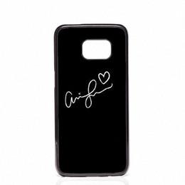 Галактика s4 мини-чехол телефона онлайн-Ariana Grande телефон обложки оболочки жесткий пластиковые чехлы для Samsung Galaxy S4 S5 MINI S6 S7 edge S8 S8 Plus
