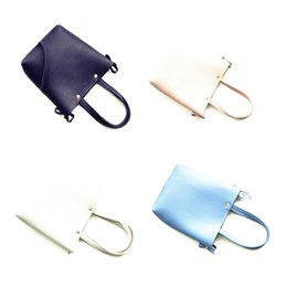 Wholesale Cute Tote Bags For Kids - Hot Sale Bag Children's Fashion Leather Handbags Kid's Mini Cute Purse Baby Kids Totes Children's Simple Style Wallets gift for kid CM007
