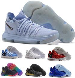 Wholesale Pearl Massage - KD 10 Basketball Shoes Men Men's Red Tennis BHM Kevin Durant 10 X Kds Elite Floral Aunt Pearls Easter Sport Shoe Replica Sneakers