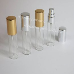 Wholesale Perfume Oz - 24 x 10ml Glass Sprayer Bottle, 1 3 oz Refillable Perfume Atomizer, 10cc Fragrance Bottle