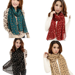Wholesale Long Summer Scarf - 2017 summer autumn winter women fashion Sexy Leopard long scarf lady's soft high quality chiffon silk shawl wraps scarve