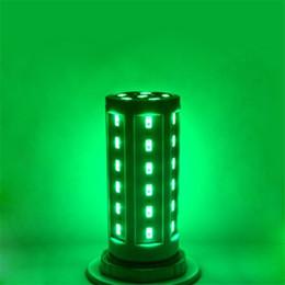 Lámpara de maíz led azul online-Alta potencia AC / DC 24-60V Lámpara LED bulbo de maíz Proyector SMD 5730 lampada led E27 lamparas 15W 20W 25W 30W 40W 45W Rojo / Azul / Verde