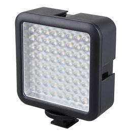 Wholesale Led Lighting Video - Wholesale-Godox 64 LED LED-64 Video Lamp Light for Digital Camera DSRL Camcorder DV