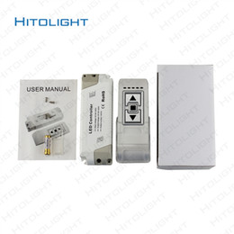 Wholesale Voltage Dimmer - HITOLIGHT High Voltage AC 90-240V LED Dimmer with 3 key Wireness RF Remote Controller Switach for Single Color LED Strip 5050