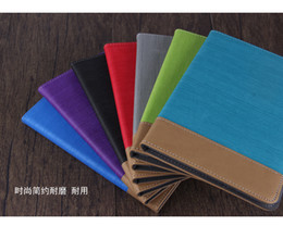 Wholesale Leather Canvas Tablet Case - Wholesale- High Quality Folio Stand Fashion Canvas PU Leather Case Magnetic Smart Sleep Cover For Xiaomi Mipad 3 Mi Pad 3Gen Mi Pad3 Tablet