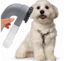 Wholesale Cat Remover - Electric Pet Hair Remover Dog Cat Grooming Brush Vacuum Clean Trimmer Pet Dog Cat Shed Pal Electric Vac Hair Remover Grooming Clean KKA1833