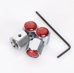 Запираемый черный серебряный цвет противоугонные пылезащитный колпачок шин клапан крышки значки эмблемы для Красный Гидра Белый Гидра Yamaha от Поставщики красная пылезащитная колпачка