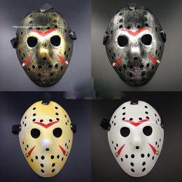 Wholesale Masquerade Mask Killer - Halloween Freddy VS Jason Mask Killer Mask 5 Colors Party Masks Festival Cosplay Masks EMS Free Shipping Men's Masquerade Mask
