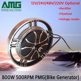 Wholesale Brushless Bike - 800W 12V low speed brushless permanent magnet generator for exercise bike   emergency, home DIY generator, great promotion price!