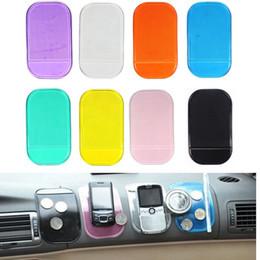 липкий держатель для телефона Скидка Wholesale- 2017# Car Interior Accessories Magic Anti-Slip Reusable Dashboard Sticky Pad Non-slip Mat Holder For GPS Cell Phone Car Styling