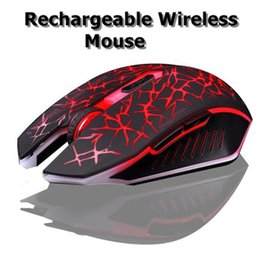 Wholesale Desktop Computer Home Pc - Original Azzor Wired Luminescence Gaming Mouse 2400DPI Backlight Crack Silent Mute Gamer Mice For Computer Desktop Laptop Home Use Office PC